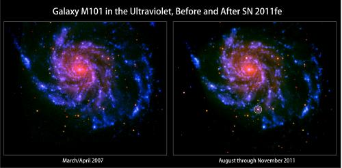 Swift narrows down origin of important supernova class