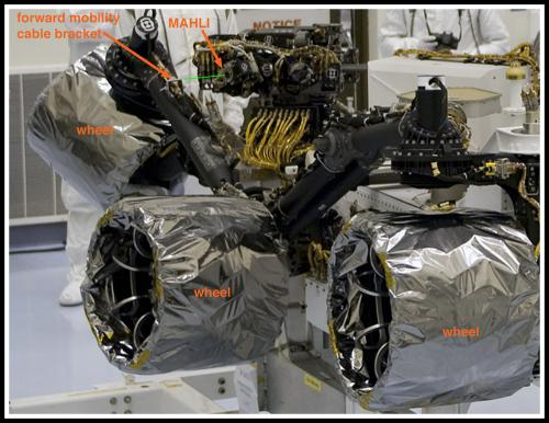 Take a peek inside Curiosity's shell