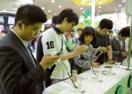 Tech-savvy South Korea has more mobile phones than people
