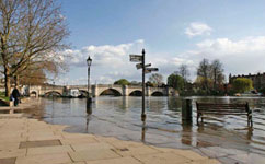 Thames flooding isn't rising, long-term records show