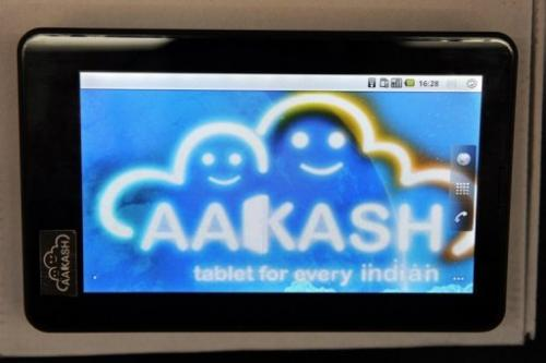 The Aakash 2 has a screen measuring seven inches (18 centimetres) and runs on Google's Android operating system