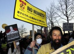 The anti-nuclear activists urged Tokyo to