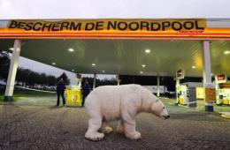The environmental group has organised several protests against Shell's exploratory drilling in the Arctic
