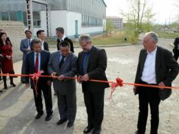 The first pilot wastewater treatment plant with integrated wood production opened in Mongolia