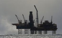 The French firm evacuated the Elgin rig off the Scottish coast because of a gas leak