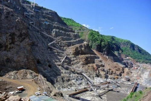 The Gibe III dam is set to be completed by 2013 and will be Africa's tallest at 243 metres high.