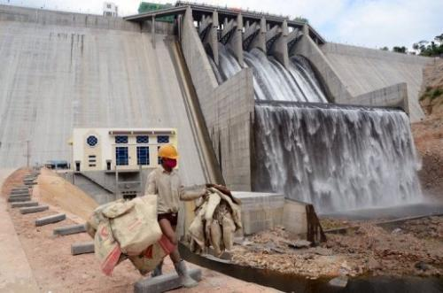 The Kamchay Hydropower Dam in Cambodia