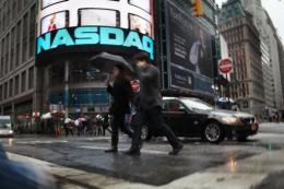 The Nasdaq.com website was briefly inaccessible at times on Tuesday although it was back online late in the day