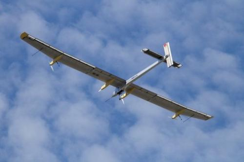 The Swiss sun-powered aircraft Solar Impulse