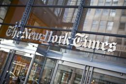 The Times Co said net profit fell 12 percent in the quarter to $58.9 million compared to a year ago