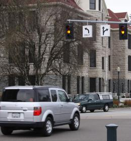 The 'twilight zone' of traffic costs lives at stoplight intersections