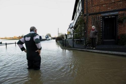 The UK faces a rising flood risk, says the Association of British Insurers