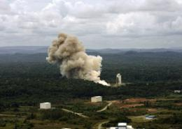 The Vega rocket will launch from the Ariane launch site in Kourou, French Guiana
