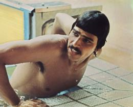 This file photo shows US swimmer Mark Spitz, pictured during the Olympic Games in Munich, in 1972