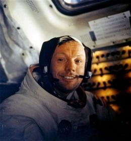 To hero-astronaut Armstrong, moonwalk 'just' a job