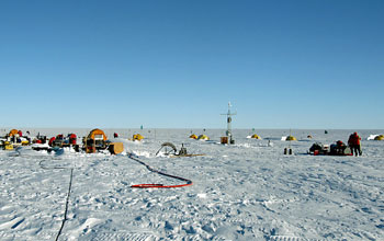 Trio of complex antarctic science projects reach significant technological milestones 'on the ice'