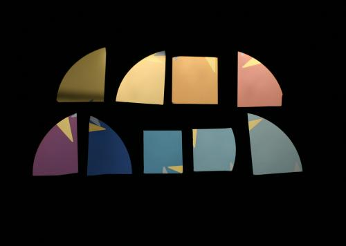 Researchers spray-paint ultrathin coatings that change color with only a few atoms' difference in thickness