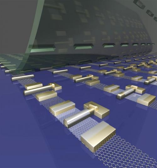 UCLA researchers devise scalable method for fabricating high-quality graphene transistors