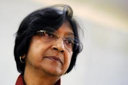 United Nations human rights chief Navi Pillay