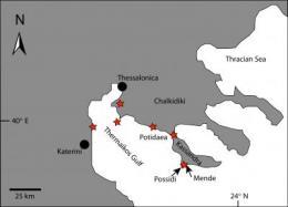 Warning signs from ancient Greek tsunami