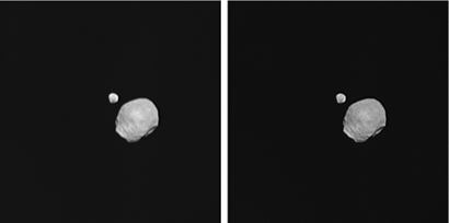 Where is Mars's moon Deimos?