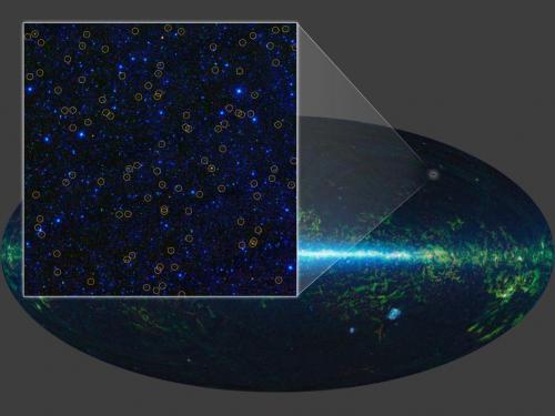 Studio WISE scopre milioni di buchi neri