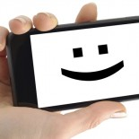 Women use emoticons more than men in text messaging :-)