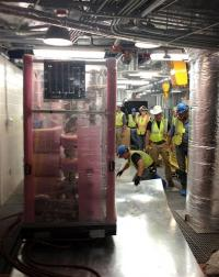 World's most sensitive dark matter detector set up