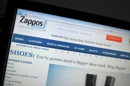 Zappos.com said credit card data was not affected