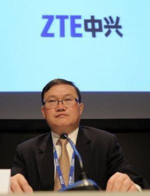 ZTE Vice President He Shiyou