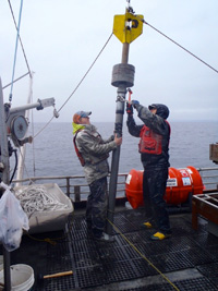 Aftermath of Alaskan 'Snowpocalypse': Coring of seafloor sediments may give long-term record of changing Arctic climate