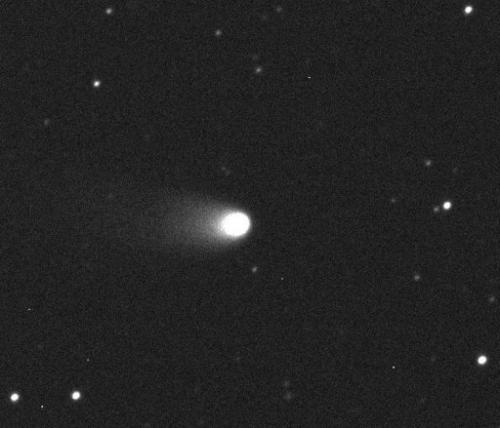 A photo released by Armagh Observatory in Northern Ireland, on December 12, 2012, shows the Comet 2011 L4 (Pan-STARRS)