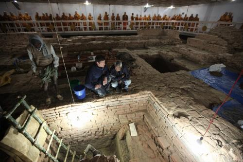 Archaeological discoveries confirm early date of Buddha's life