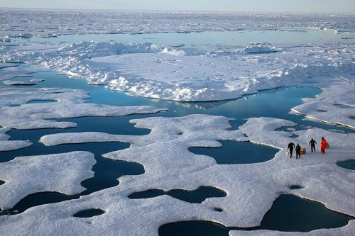 Arctic nearly free of summer sea ice during first half of 21st century