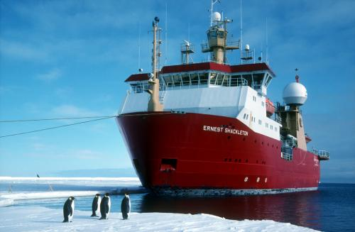 British antarctic survey field season is underway