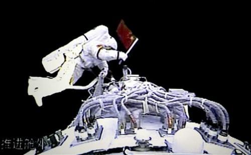 China marks decade of human spaceflight