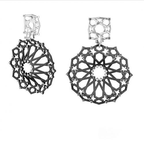 Concrete jewellery wins 'Red Dot Award'