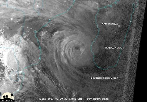 Cyclone Haruna makes landfall in Madagascar