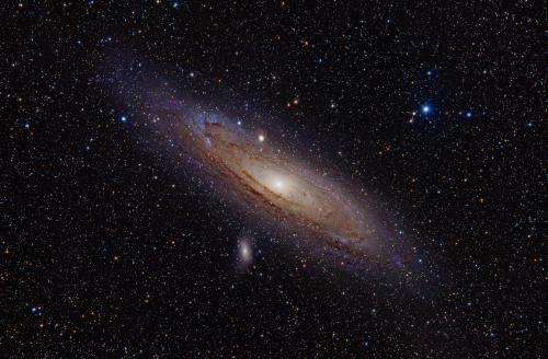 Did Andromeda crash into the Milky Way 10 billion years ago?