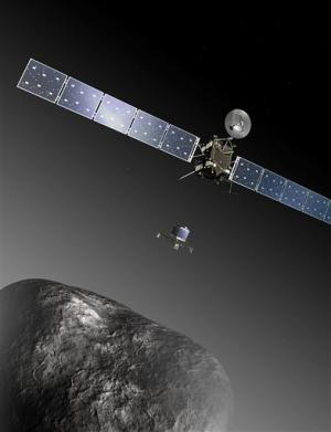 European probe on course for comet rendezvous