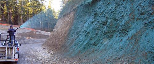 Gardens used to reduce landslides