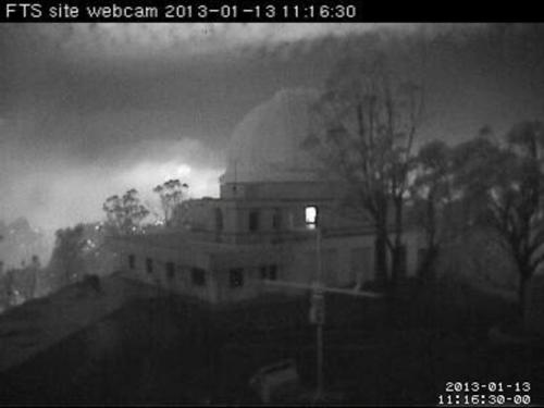 Homes burned but telescopes OK: Bushfire at major observatory