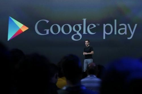 Hugo Barra, Google VP of product management for Android, pictured at the Google I/O conference on May 15, 2013