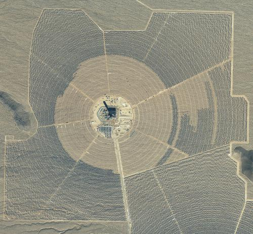 Ivanpah solar plant in California starts energy feed to grid