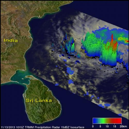 Latest storm updates NASA satellites see Cyclone 03A make landfall in Somalia Tropical Cyclone 03A
