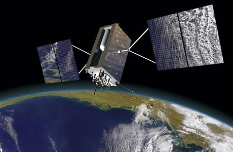 Lockheed Martin powers on the first GPS III satellite
