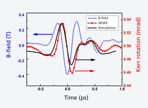 Magnetisation controlled at picosecond intervals