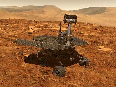 Mars and the machine