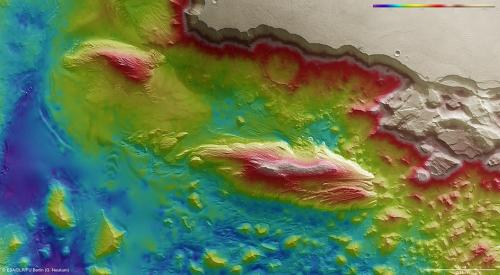 Mystery mounds on Mars