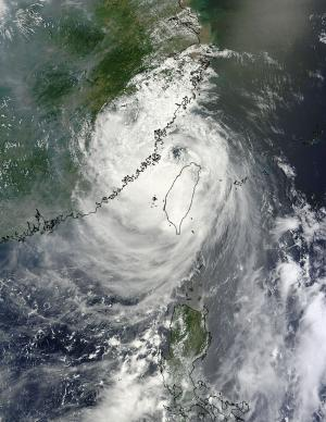 NASA caught Soulik's visible eye before making deadly landfall